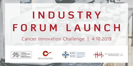 Cancer Innovation Challenge   Industry Forum Launch tickets