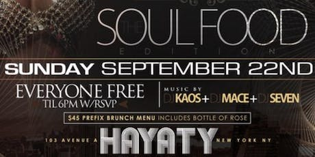 Soulfood brunch tickets