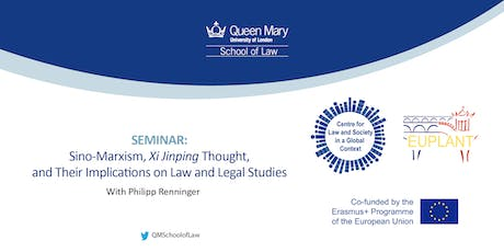 Seminar: Sino-Marxism with Philipp Renninger tickets