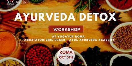 Ayurveda Detox  - Workshop biglietti