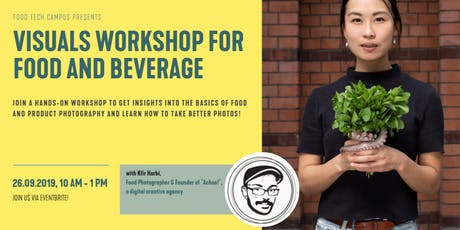 VISUALS Workshop for Food & Beverage Tickets