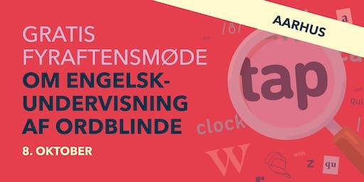 Gratis fyraftensmøde om engelskundervisning af ordblinde!