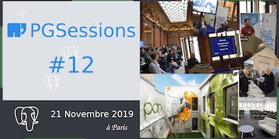 PGSession #12 : journée Conférences