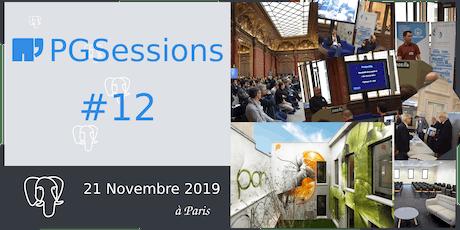 PGSession #12 : journée Conférences billets