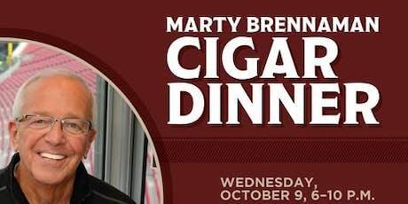 Marty Brennaman Cigar Dinner tickets
