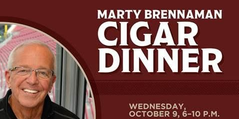 Marty Brennaman Cigar Dinner