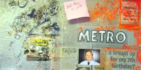 Art Classes @ Learn Grow Create - Mixed Media/Collage Class tickets