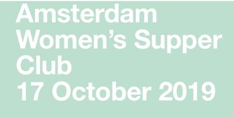 Amsterdam Woman's Supper Club tickets
