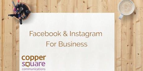 Facebook & Instagram For Business tickets