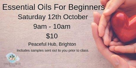 Essential Oils Beginners Class tickets