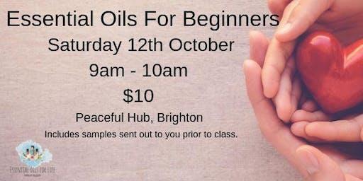 Essential Oils Beginners Class