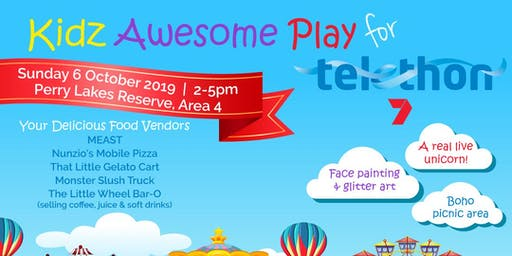 Kidz Awesome Play for Telethon
