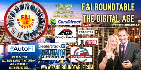 F&I Roundtable - The Digital Age - Rebecca Chernek - Ted Ings tickets