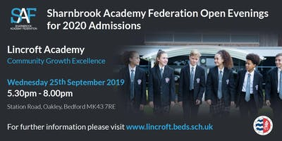 Lincroft Academy Tour & Talk 4 - Year 7 Open Evening (Admissions Sept 2020)