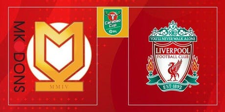 Liverpool vs MK Dons £16 Burger, Chips And Pint Deal tickets
