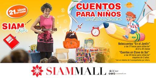 Cuenta Cuentos en Siam Mall