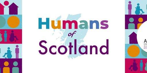 A Celebration of Humans of Scotland - Book Launch