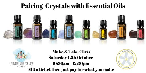 Pairing Crystals with Essential Oils Make & Take