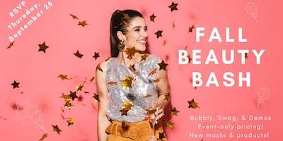 BodyBrite Fall Beauty Bash - treats, sale, bubbly & swag