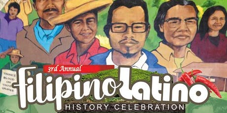 3rd Annual Filipino Latino History Celebration tickets
