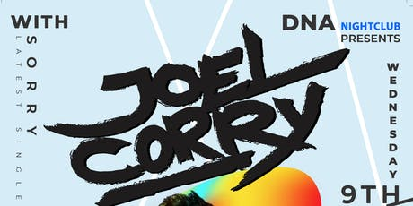 Joel Corry @ DNA tickets