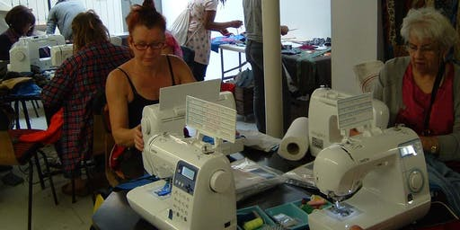 'Brother' sewing machine Day at Fabrications
