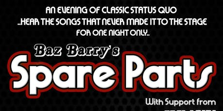 Baz Barry's Spare Parts & Heavy Traffic tickets