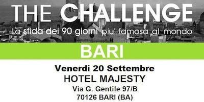 THE CHALLENGE - BARI -