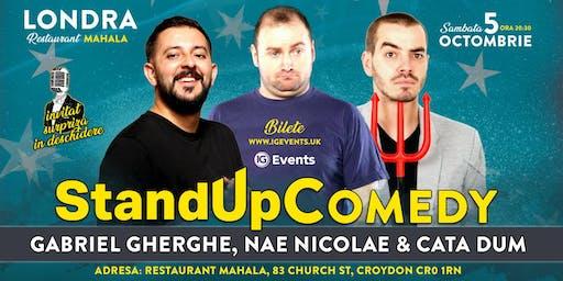 Stand Up Comedy Londra 2 – Gabriel Gherghe, Nae Nicolae & Cata Dum