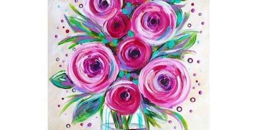 Pink Roses - Six Tanks