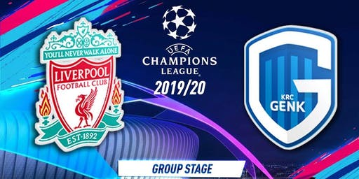 Liverpool vs Genk £16 Burger, Chips And Pint Deal