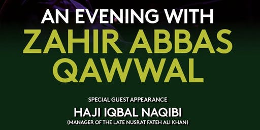 An Evening with Zahir Abbas Qawwal