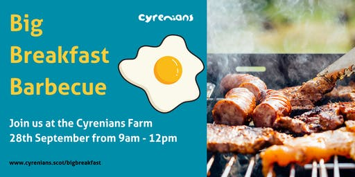 Cyrenians Farm Big Breakfast Barbecue & Social