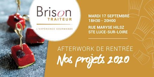 AFTERWORK #1 Brison Traiteur : nos projets 2020