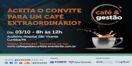 Café e Gestão Curitiba ingressos