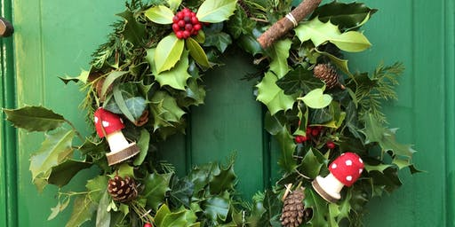 Christmas Wreath Making @ Holmfirth Tech