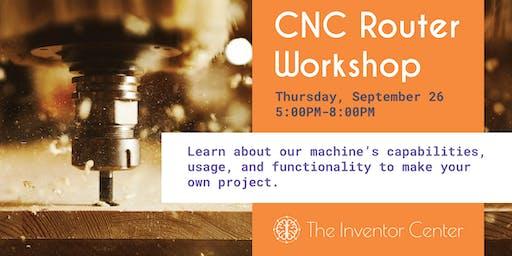 CNC Router Project Workshop