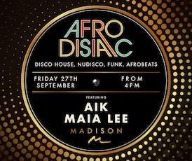 Afrodisiac at Madison London tickets