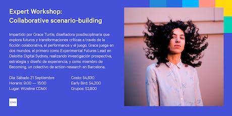 Expert Workshop: Collaborative scenario-building with Grace Turtle tickets