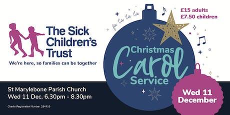 The Sick Children's Trust Christmas Carol Service tickets