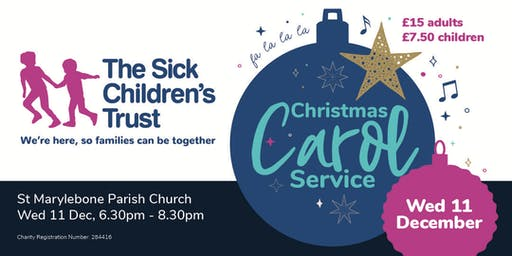 The Sick Children's Trust Christmas Carol Service
