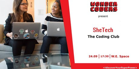 SheTech Coding Club vol. 6 tickets