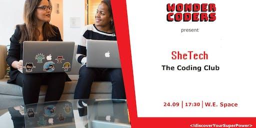 SheTech Coding Club vol. 6