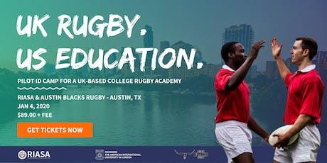 UK College Rugby ID Camp | RIASA & Austin Blacks Rugby Club tickets