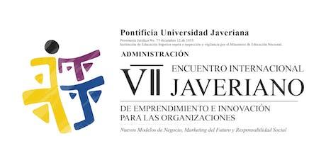 VII Encuentro Internacional Javeriano de Emprendimiento e Innovación entradas