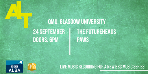ALT Music Series Recordings: THE FUTUREHEADS & PAWS