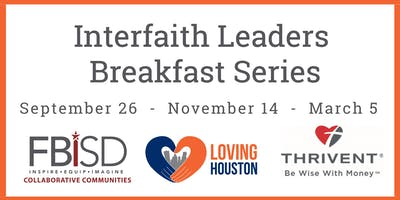 FBISD Interfaith Leaders Breakfast Series