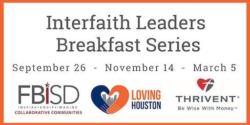 FBISD Interfaith Leaders Breakfast Series