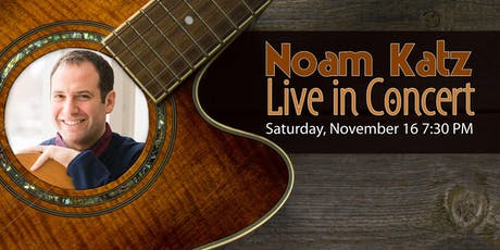 Noam Katz: Live in Concert tickets