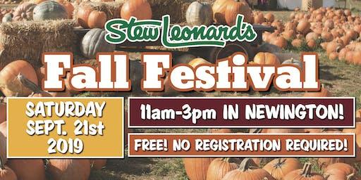 Fall Festival at Stew Leonard's in Newington
